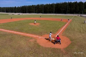 Pirmos, šį sezoną, Lietuvos beisbolo čempionato varžybos Utenoje
